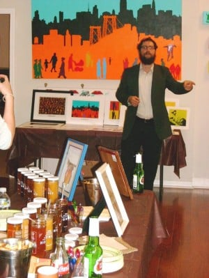 LIC Jewish Center opens with an art show 1