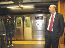 MTA's Walder visits York Friday