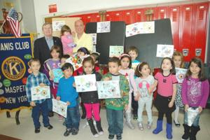 A Maspeth Kiwanis Club coloring contest 1