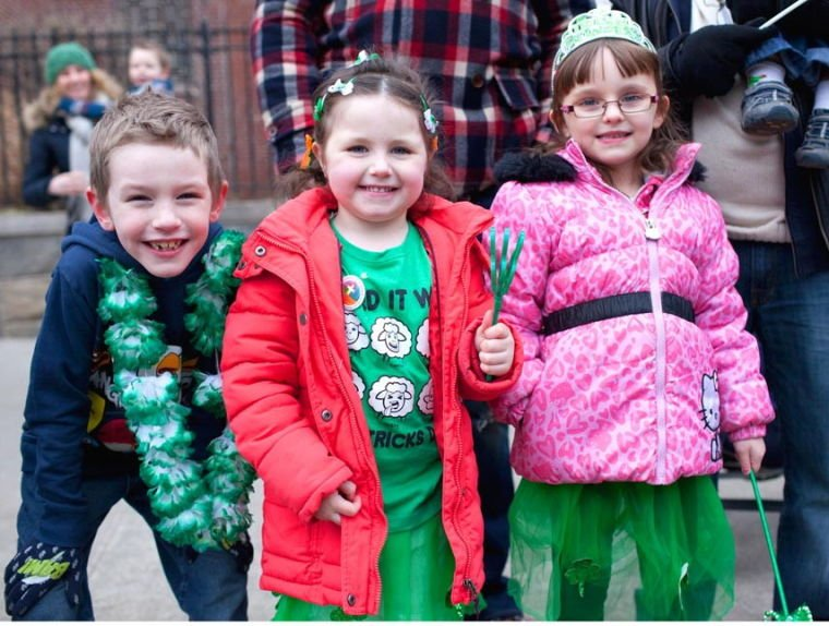 A time for shamrocks, dancing and fun