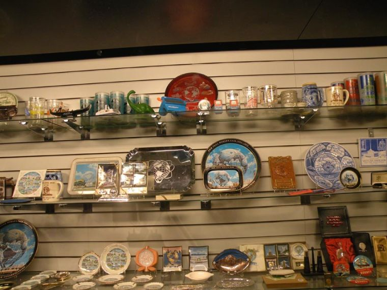 Memorabilia and more at museum 1