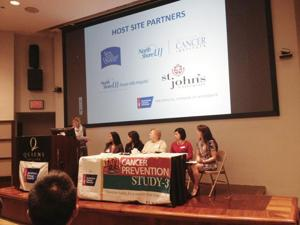 Cancer prevention study hits Queens 1