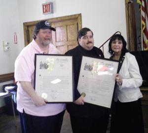 Woodhaven leaders honored 1