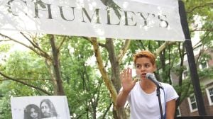 Queens shares its verse at poetry fest 1