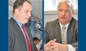 <p>State Sen. Tony Avella, right, is pushing a bill that would prevent Queens Library President Tom Galante from having outside employment and make major alterations to the board of directors, in response to the controversy surrounding the institution.</p>