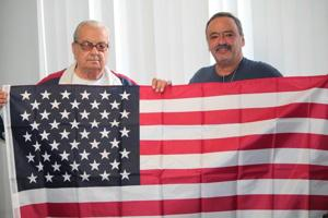 Meet Lindenwood's new 'Flag Man' 1