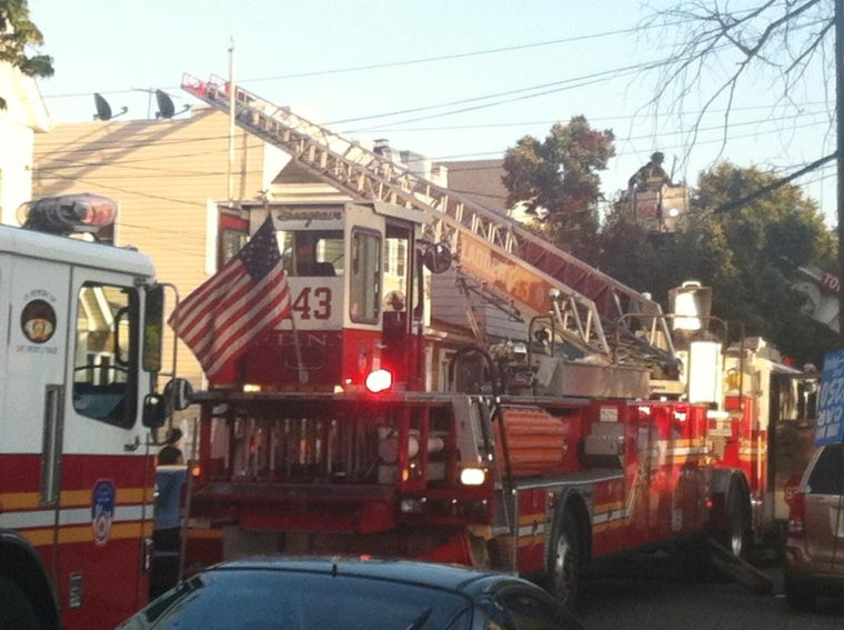 House fire in Ozone Park 1
