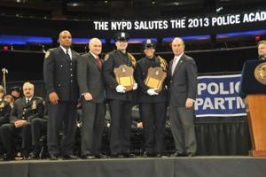 Bloomberg, Kelly bid Police Academy adieu 2