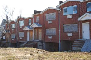 Plan for old eyesore housing is nixed 1