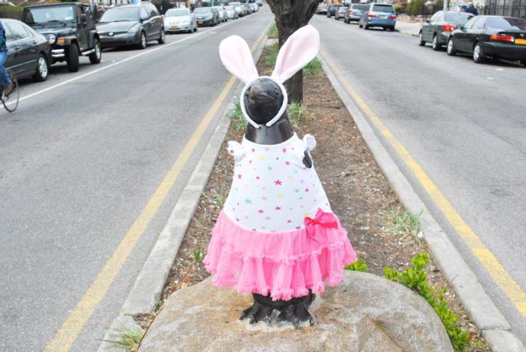 Wink, the Easter penguin 1