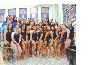 Molloy girls win swim titles 1
