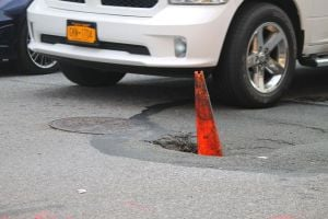 More than bumps in the road on 101st St. 1