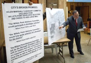 Willets Point advocates blast Julissa Ferreras 1