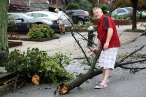 Residents hit shelters as Irene hits Queens