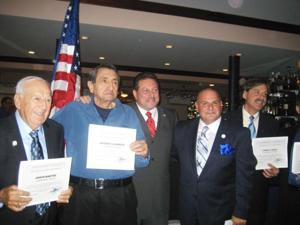 Kiwanis club honors Thomas Clarke 1