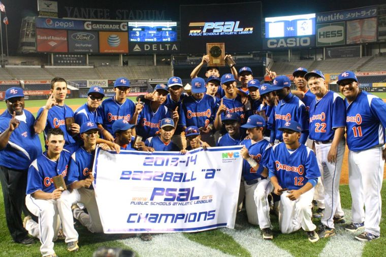 Cardozo wins PSAL city baseball title 1