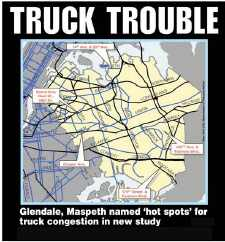 City DOT Releases Truck Traffic Report