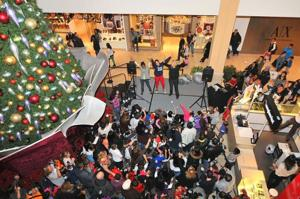 Welcoming the holidays at Queens Center 2