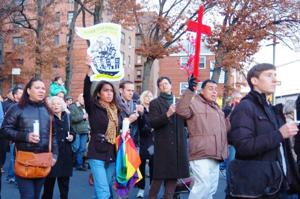Murdered gay activist Lou Rispoli honored with candlelight vigil