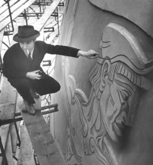 The World's Fair, free pickles and the muralist 2