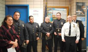 112th Precinct  honors four officers 1