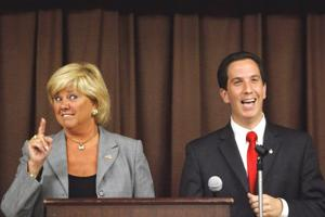 Assembly hopefuls mix it up in a lively debate 1