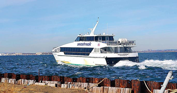 Rockaway vows to fight for ferry funds 2
