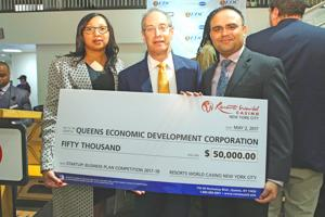QEDC wins big at Resorts World NY 1