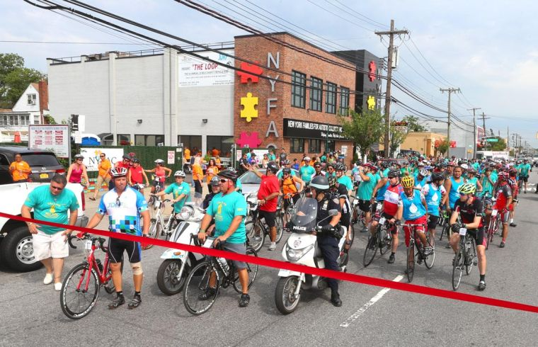 NYFAC's inaugural bike ride raises $15K 1