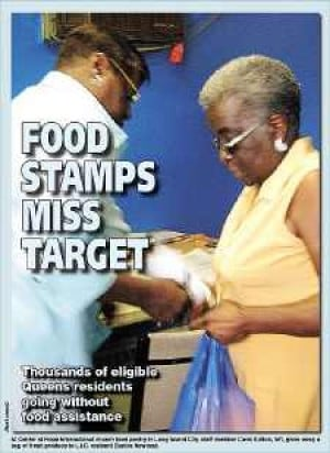 Food Stamps Not Reaching Needy