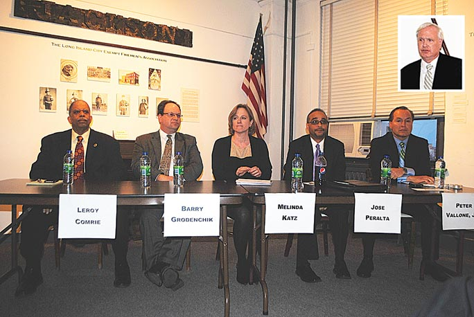 Schools, jobs top boro prez forum 1