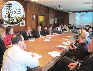 Pavilion task force meets 1