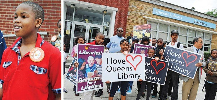 We need the Laurelton Library, residents say  1