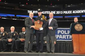 Bloomberg, Kelly bid Police Academy adieu 1