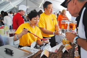 Eateries gather at Gantry Plaza State Park to serve up some of their best