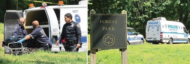 Burned body found in Forest Park 1