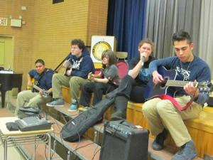 School outsiders find  home in music 1