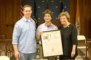 CB 5 district manager  honored for service 1