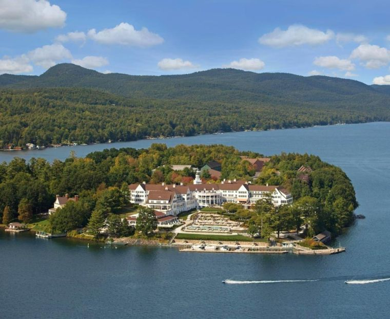 A vacation paradise in Lake George — The Sagamore Resort 1