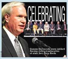 Jubilant Dems honor state Sen. Tony Avella