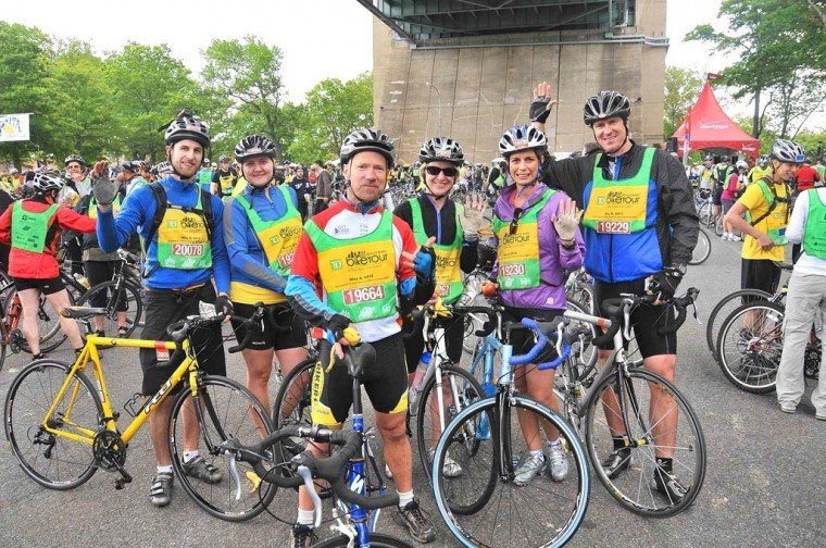 2012 Five Boro Bike Tour 