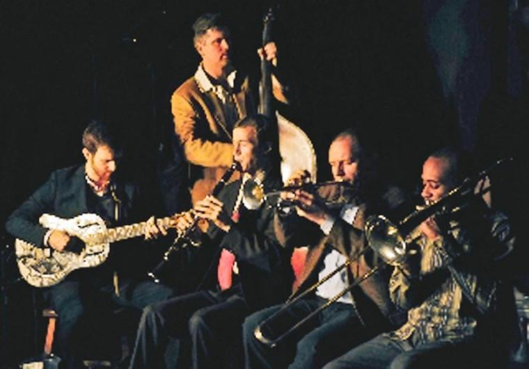 Lucky Dogs play Louisiana jazz of past 2