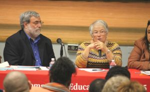 NYC Schools Chancellor Fariña meets the parents in Flushing