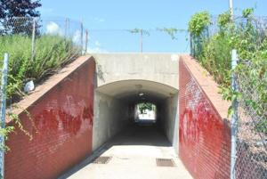 Tunnel of no love from the city's DOT 1