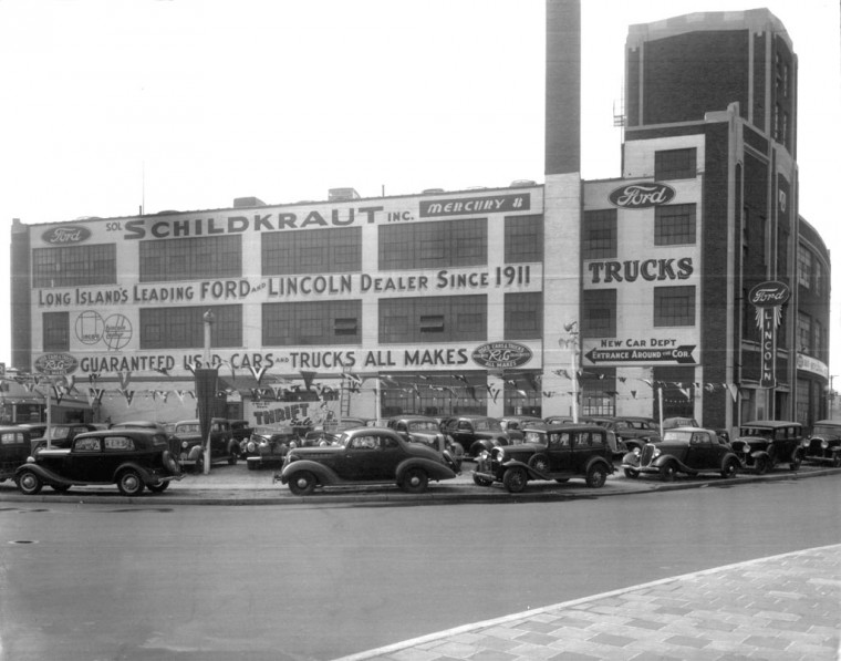 Sol Schildkraut's Ford dealership 1