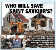 Locals Rally To Save St. Saviour's