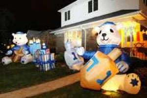 'Hanukkah House' in Fresh Meadows
