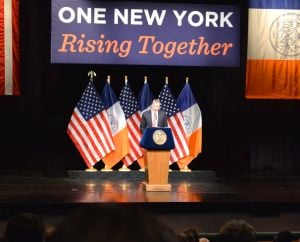 De Blasio tackles inequality in State of City Address