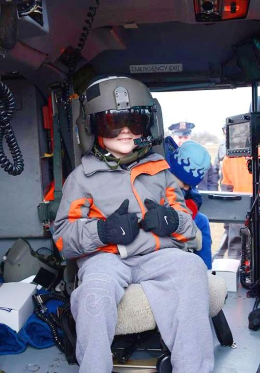 Coast Guard fulfills young boy's dream 1