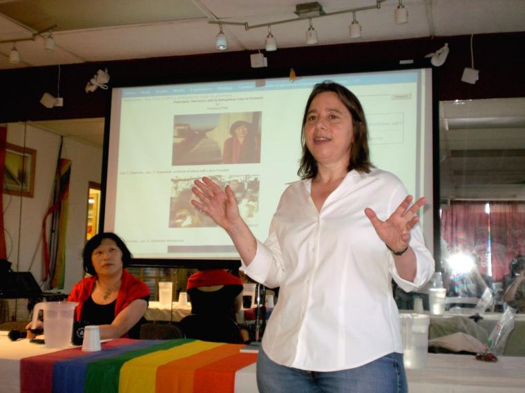 Pride House forum slams Israeli policies 1